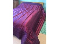 Beautiful King size quilted bedspread