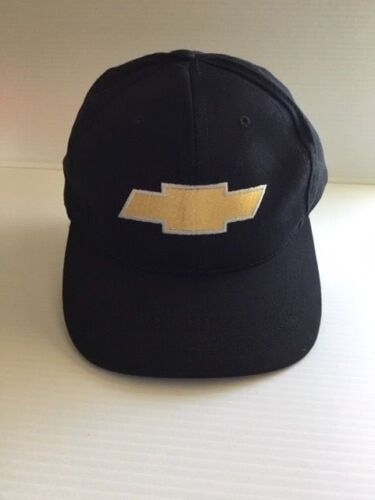 Chevy Logo Adjustable Hat Cap with SEMA Embroidered in back