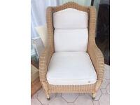 Wicker Consveratory Chair very comfortable