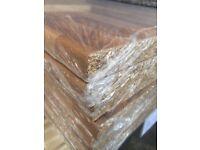 Walnut block Laminate Kitchen Worktop - Brand New 10 foot long