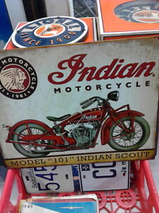 Indian Motorcycle Signs London Ontario image 1
