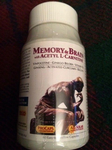 Andrew Lessman Memory & Brain with Acetyl L-Carnitine 60 Caps Exp. 11/30/2021