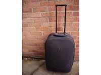 Suitcase Black Very Good Condition Very smart Soft Shell