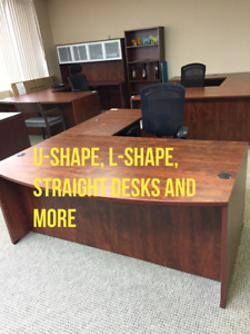 MODULAR OFFICE FURNITURE, NEW/USED, HUGE SELECTION FROM STOCK