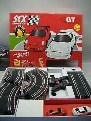 SCX GT 3180 COMPACT GT Starter-SET 1:43 NEU & OVP