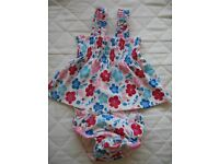 Baby Girl 2 Piece Swimming Costume from John Lewis, 12-18 Months