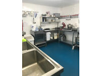 Well-equipped commercial kitchen space to rent in Winchester