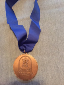1988 Seoul Olympic Games Canadian team participation medallion