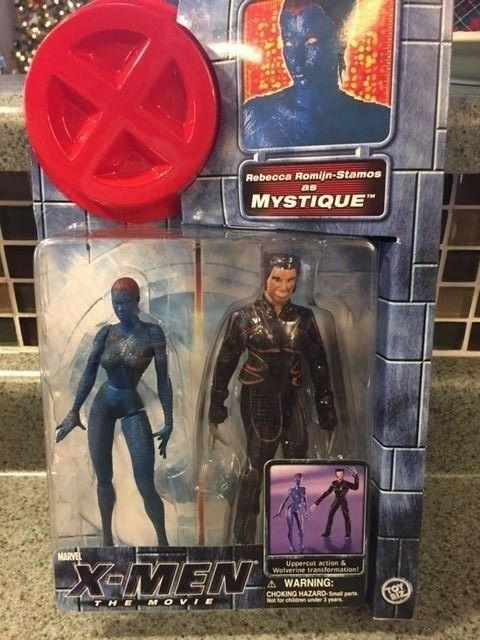 Toy Biz Marvel Legends X Men Movie Mystique 6 Inch Action