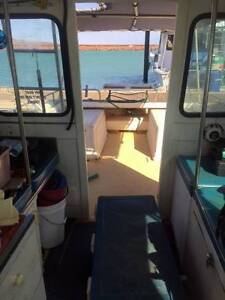 Shark Cat 30' Bruce Harris - great stable boat with economy Karratha Roebourne Area Preview