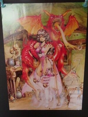 GHOST IN THE SHELL Masamune Shirow INTRON DEPOT Idol Poster Appleseed 1995