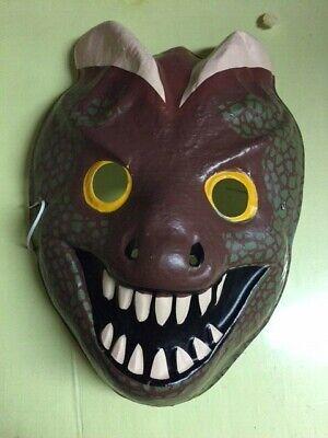 1992 Jurassic Park Velociraptor Halloween Character Mask for Kids MINT rare JP](Peck Park Halloween)