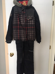 Snowsuit by Souris Mini - Size 8