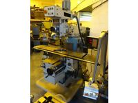TOS FNK25A TURRET MILLING MACHINE
