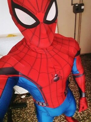 Spider-Man Homecoming Costume New Spandex Zentai Spiderman Suit For Adult/Kids