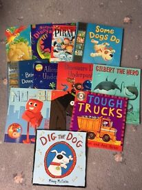 IDEAL FOR CHRISTMAS FOR PRESENTS - LOVELY BOOKS TO READ TO YOUNG CHILDREN X 13