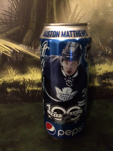 MAPLE LEAFS AUSTON MATTHEWS PEPSI COLLECTORS CAN
