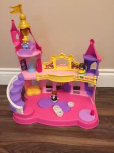 Château de princesse musical Little People