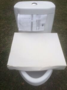 WATERHOUSE DUAL FLUSH  WHITE TOILET