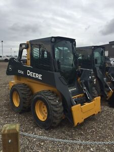 JOHN DEERE NEW 320E SKID STEER BLOW OUT SALE SAVE OVER $30,740.
