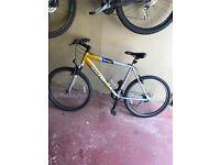 Raleigh Mountain Bike, 27 Wheels, 21 gears Alluminium frame, good condition