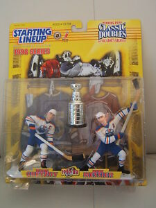 Gretzky Messier Stanley Cup Starting Line Up 1998 Mint In Pack!
