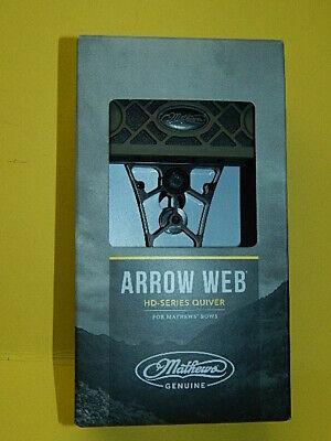 Mathews HD 6 Arrow Black Archery Quiver Dampener Spider Clip