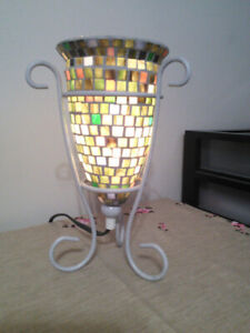 Beautiful vintage stained glass lamp  [Moving Sale!]