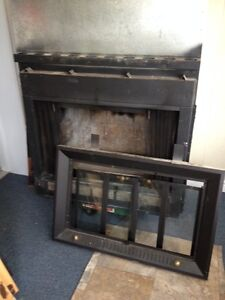 Indoor Wood Fire place