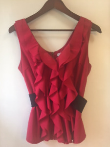 Women's Red Top