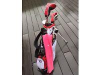 Junior Girls Golf Clubs JTex 3.0