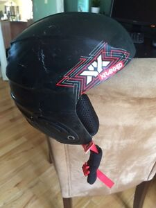 Kranked youth helmet for winter sports