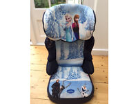 Nania BFix SP Disney Frozen highback booster seat 2-3 (as new, used only once!)