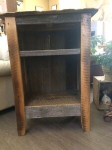 RECLAIMED BARN BOARD CABINET - GORGEOUS!!!