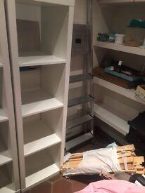 Ikea Kallax Storage Unit - White 4x1 cubes