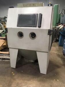 (USED) SANDBLAST CABINET / BLAST-IT-ALL / 700CFM