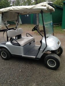 Golf Cart at Hollinger Golf Course