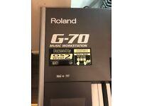 Roland G-70 Music Workstation Version 2 - G70 Keyboard - Excellent Condition
