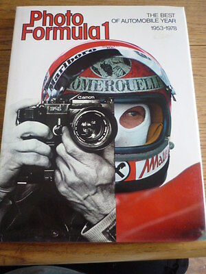 PHOTO FORMULA ONE, BEST OF AUTOMOBILE YEAR MOTOR RACING BOOK - POST FREE, (Best Formula One Races)