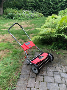 Troy-Bilt Revolution Silent Reel Lawn Mower