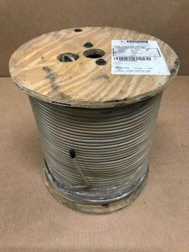 TimesFiber/Amphenol RG59 Headend Cable T59SCSQ95-95-VCV-HE Beige 1000ft