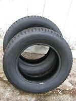 PAIR -215-65-15 M&S CONCORDE WINTER TR  Steel belted radials
