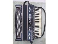 VINTAGE MANTOVANI PIANO ACCORDIAN WITH CASE