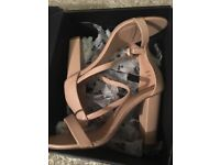 Brand new - barely there heels nude size 7