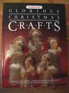 GLORIOUS CHRISTMAS CRAFTS (HARD COVER) ... EXCELLENT CONDITION!