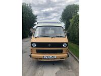 1986 VW T25 Camper Auto Sleeper in Timor Beige 'Gwen' Needs Some TLC and a New Home