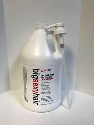 BIG SEXY HAIR COLOR SAFE VOLUMIZING CONDITIONER GALLON WITH PUMP