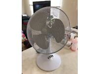 """12"""" Desk Fan - Immaculate Condition"""