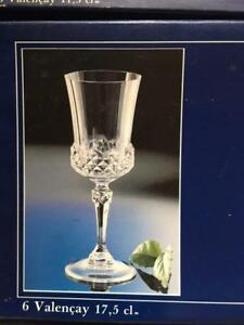 GLASSWARE SET, FINE LEAD CRYSTAL 24%, 60 PIECES