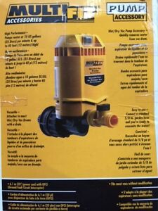 Universal pump that attaches to a Wet Vacuum new in box